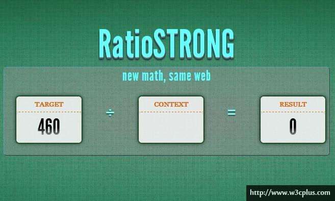RatioSTRONG