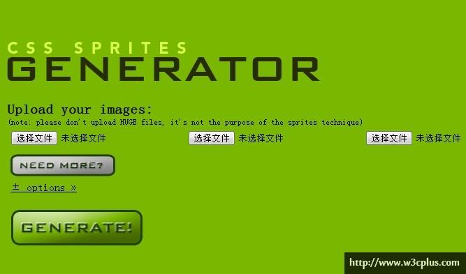 CSS Sprites Generator