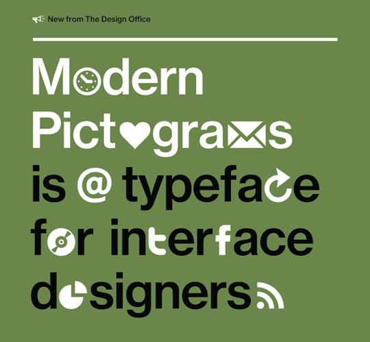 Modern Pictograms